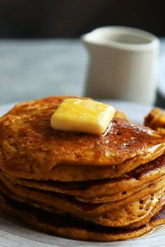NYT Cooking: Crisp fall mornings call for cozy breakfasts, and these fluffy pumpkin pancakes are just the thing to warm you right up. Packed with pumpkin and a sprinkle of cinnamon and vanilla, they feel and taste special, but are quick to stir together. The buttermilk and pumpkin make the batter quite thick, but they will spread. Be sure to leave lots of room between the pancake...