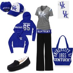 """Comfy Kentucky"" by kelly-odaniel-sanders on Polyvore"