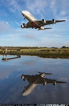 Airbus A-380 - what a shot!