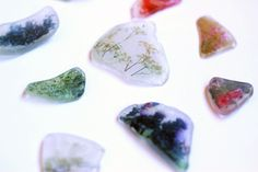 Podge photos onto beach glass - perfect for camps on the ocean or a lake with big waves.