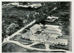 Photo-udara Rumah Sakit Elizabeth Medan 1935.
