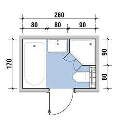 Billedresultat for wysokość baterii w prysznicu Small Bathroom Plans, Small Bathroom Layout, Bathroom Design Layout, Home Room Design, Bathroom Interior Design, House Design, Kitchen Layout Plans, Mini Bad, Bathroom Dimensions