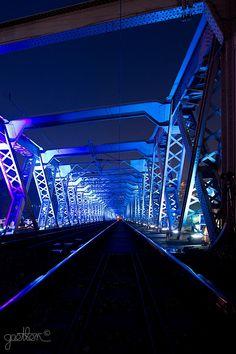 Viaduc d'Eauplet - Rouen (FRANCE).