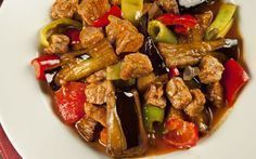 25 Exquisite Juicy Food That Goes Well With Rice, # Very .-Pilavın Yanına Çok İyi Giden 25 Enfes Sulu Yemek, … 25 Exquisite Juicy Food That Goes Well with Rice, # The Rice - Eggplant Dishes, Eggplant Recipes, Turkish Recipes, Asian Recipes, Ethnic Recipes, Baby Food Recipes, Healthy Recipes, Iftar, Food Humor