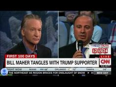 A Trump Fan Just Asked Bill Maher To Give Trump A Chance. His Response Is Epic