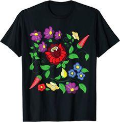 Hungarian folk art Vector Desing from Kalocsa Printed Magyar T-Shirt: Amazon.de: Bekleidung Amazon T Shirt, Dubai Vacation, Shirt Price, Cool, Vector Graphics, Folk Art, Retro Vintage, Great Gifts, This Or That Questions