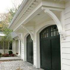 1000 images about home exteriors on pinterest dutch for French country garage doors