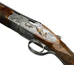 The EELL is a more lavishly engraved version of Beretta's famed sidelock over-under shotgun. It is one of the top premium guns of the Beretta line, and as such among the best-made guns in history. Hunting Rifles, Hunting Gear, Beretta Shotgun, Shooting Equipment, Shooting Guns, Cool Guns, Airsoft Guns, Firearms, Shotguns