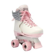 She'll love to move and groove in these Circle Society Classic Pink Vanilla girls' roller skates. Kids Roller Skates, Roller Skate Shoes, Roller Skating, Best Roller Skates, White Roller Skates, Roller Rink, Roller Derby, Dr Shoes, Cute Shoes