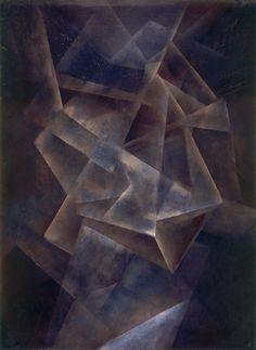 Fritz Winter: Komposition A34, 1934, Lipari. Öl auf Papier, 102 x 75 cm; Fritz-Winter-Haus, Ahlen. © 2015, ProLitteris, Zürich