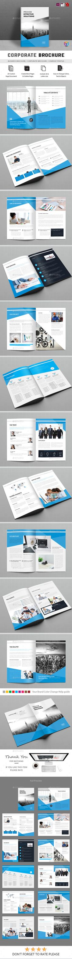 Brochure — InDesign Template #project #8.27x11.69 • Download ➝ https://graphicriver.net/item/brochure/18018173?ref=pxcr