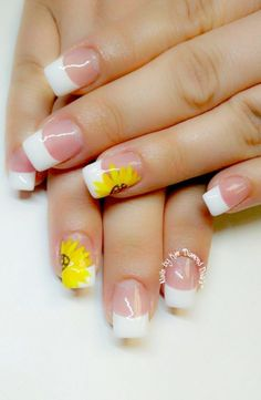 60 Best French Acrylic Nails Ideas For Spring Time French Nails French Acrylic Nails, Gel Acrylic Nails, Summer Acrylic Nails, French Tip Nails, Acrylic Nail Designs, Spring Nails, Summer Nails, French Manicures, Fingernail Designs