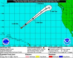 As of the hurricane center's latest advisory, Hurricane Ana was moving northeast -- and could affect Canada as an extratropical storm next week.