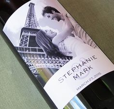 Wedding Photo Wine Labels, This is a great favor idea with a nice bottle of wine, use a favorite photo of both of you! Personalized Labels, Custom Labels, Wedding Wine Labels, Wine Label Design, Bottle Labels, Text Color, Custom Photo, Special Gifts, Wedding Photos