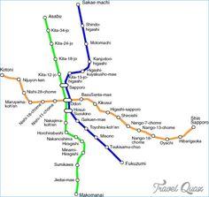 Sapporo Metro Map - http://travelquaz.com/sapporo-metro-map-2.html