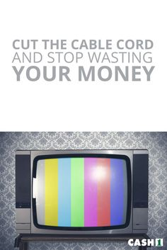 Are you finally canceling cable TV to save money? Here are some tips to help you decide if streaming a solution is right for you. Cut that cord, already.