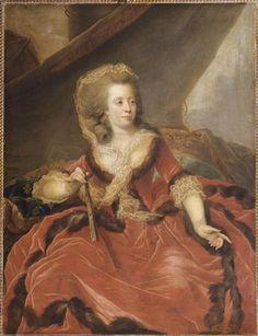 """1786 Marie-Louise-Thérèse-Victoire de France, dite """"Madame Victoire"""" by Johann Ernst Jules Heinsius"""