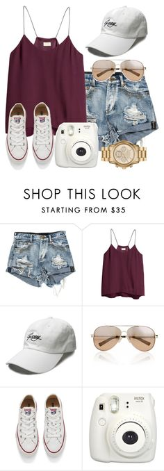 """""""I MIGHT BE GOING TO SEE G-EAZY!"""" by preppygurl02 on Polyvore featuring H&M, Valentino, Converse and MICHAEL Michael Kors"""