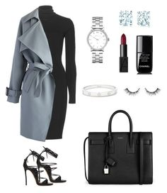 """Meetings"" by bahranita-benyameen ❤ liked on Polyvore featuring Dolce&Gabbana, Chicwish, Dsquared2, Yves Saint Laurent, Marc by Marc Jacobs, Cartier, Tiffany & Co., Chanel and NARS Cosmetics"