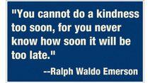 Quote of the Day: Kindness Week Day 2