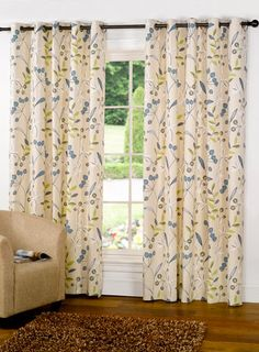 Green Rovini Curtain - curtains & accessories - Home, Lighting & Furniture