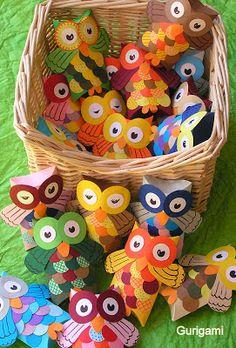 Mais uma sugestão de curujinha de lembrancinha para o dia das crianças. Confeccione lindas caixinhas decoradas de corujinhas . Molde da caix...