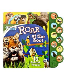 Love this Discovery Roar at the Zoo Board Book on #zulily! #zulilyfinds