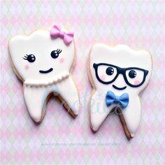 Kawaii Teeth Cookies | Cookie Connection