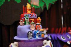 Slugterra Themed 7th Birthday Party with Lots of Awesome Ideas via Kara's Party Ideas   KarasPartyIdeas.com #SlugParty #BoyParty #PartyIdeas (6)