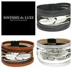 Bracelet plume fusion du cuir et de l'argent édition ultra limitée http://ift.tt/2gYuZfR #bracelet #jewerly #cuir #plume #plum #bijouxfemme #bijoux #noir #argent #marron #silver #black #brown #fantasy #fashion http://ift.tt/2hsXNva