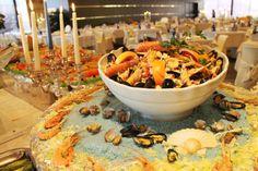 Giardino di molluschi e crostacei del Gran Buffet di Ferragosto 2013 #loano2village
