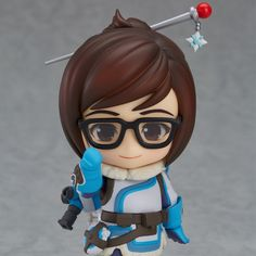 Mei, from the upcoming line of Overwatch Nendoroid figurines. Now to wait for them to announce pre-orders for Mercy.