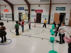 Carly's PE Games: Great ideas for elementary/adapted PE