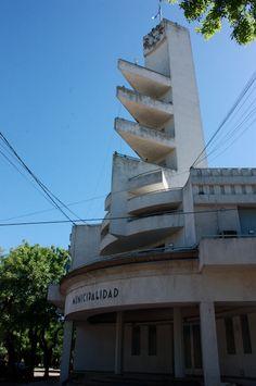 Municipalidad de Alberdi . Buenos Aires Argentina. foto Gustavo Talon