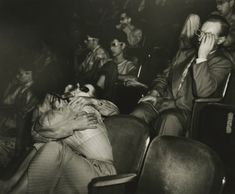 Weegee - Lovers at the Palace Theatre, - Howard Greenberg Gallery Weegee Photography, History Of Photography, Street Photography, Photography Names, Fotografia Tutorial, William Klein, Berenice Abbott, Gordon Parks, Edward Weston