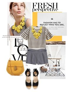 """""""My Mood Today"""" by lidia-solymosi ❤ liked on Polyvore featuring J.Crew, Chloé and Loeffler Randall"""