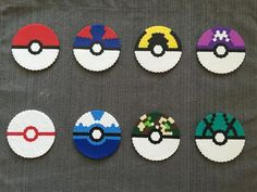 Pokemon Pokeball Perler Beads Images | Pokemon Images