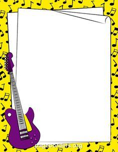 free clip art musical borders transparent Bing Images