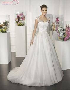 pretty princess wedding dress, by Villais