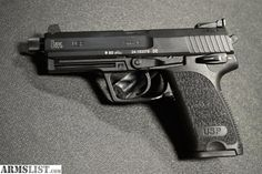 ARMSLIST - For Sale: H&K USP 9mm Tactical Pistol with threaded barrel