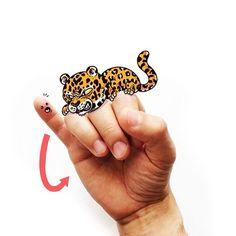 Brilhantes ilustrações que ensinam para você a língua dos sinais!