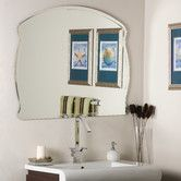 Found it at Wayfair - Frameless Diane Wall Mirror
