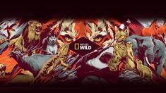 National Geographic Wild is a place for all things animals and for animal-lovers alike. Take a journey through the animal kingdom with us and discover things. National Geographic Wild, Youtube Channel Art, Animal Kingdom, June, Movie Posters, Animals, Animales, Film Poster, Animaux