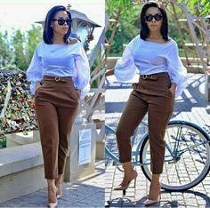 2019 Beautiful Casual Work Inspirations for Women casual work outfits casual work outfit. Formal Casual Outfits, Casual Work Attire, Classy Work Outfits, Business Casual Attire, Classy Casual, Chic Outfits, Dress Outfits, Office Outfits, Business Chic