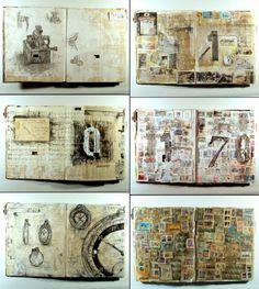 Cuadernos de artista, desde For Arts Sake por Robin Wragg
