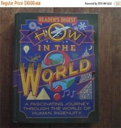 SALE 30% OFF How In The World Reader's Digest 1990 by HobbitHouse