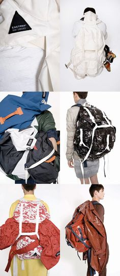 Raf Simons x Eastpak backpacks!