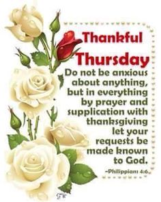 Thankful Thursday Quote