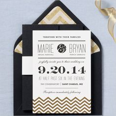 Like style of invite with chevron and different fonts