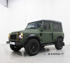 Project Kahn - Defender 3M 1080 Matte Military Green Personal Vehicle Wrap Project